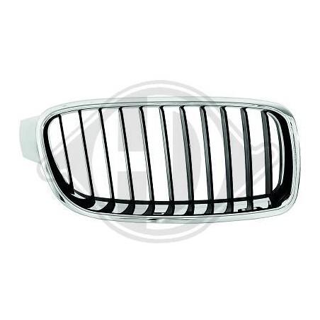Grille de calandre chrome noir BMW série 3 2011 à 2019