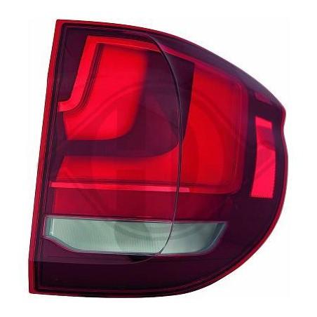 Feu arrière à LED BMW X5 F15 2013 à 2018 partie extérieur