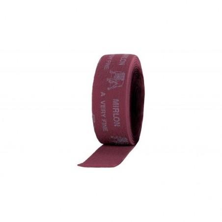 Rouleau nylon rouge  100mm X 10 m