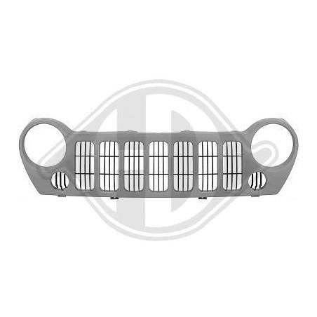 Grille de radiateur Jeep liberty gris clair