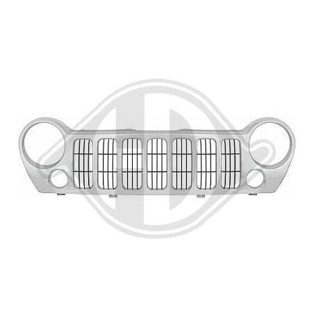 Grille de radiateur Jeep liberty chrome
