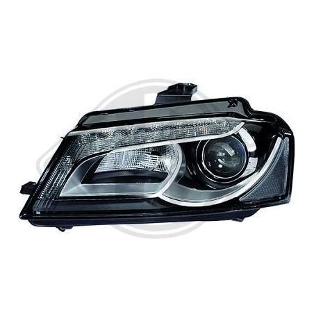 Phare avant HELLA LED bi xenons audi a3