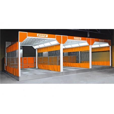 Aire de préparations autobus et camions
