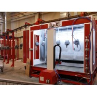 Cabine de peinture industriel